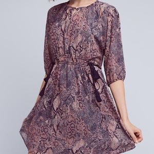 NWT Anthropologie Zharah Peasant Dress by Floreat